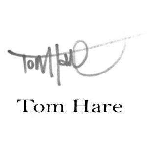 signature logo Tom Hare