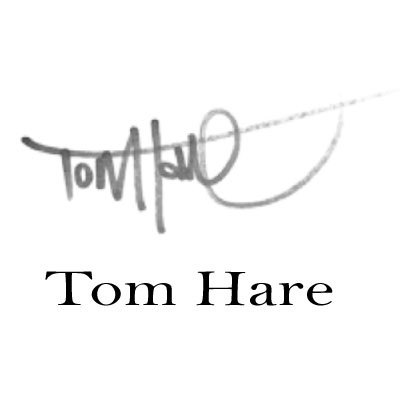 signature logo Tom Hare
