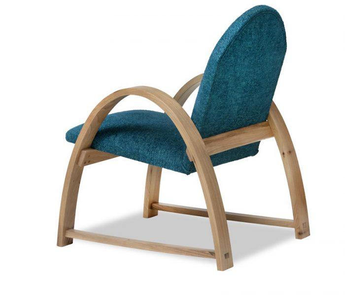 """Meuble design Fauteuil -  Armchair """"Ellipse"""" Carson Paon"""