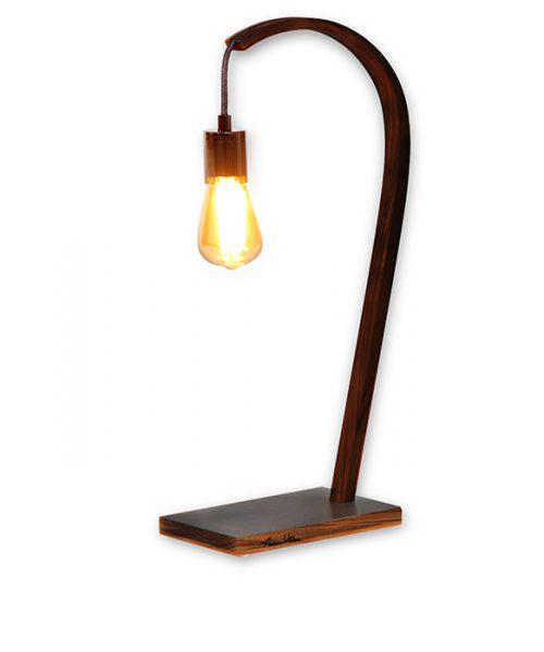 "Luminaire - Lampadaire - Lighting ""Momentum"" H 65 en bois"