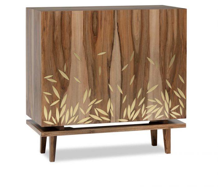 "Meuble de caractère ""Scientist"" Incrustation Laiton - Furniture Inlay Brass"