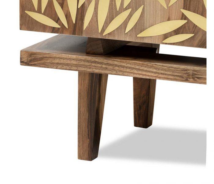 "Meuble de caractère ""Scientist"" Incrustation Laiton - Furniture  Brass Inlay"