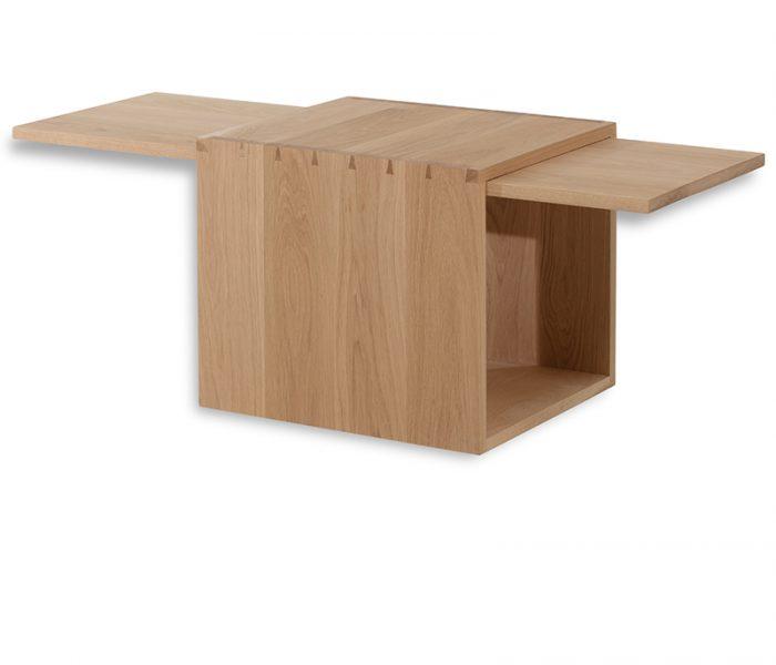 "Table Basse chêne -Coffee table ""Linéa"""