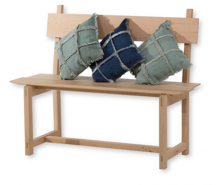 "Mobilier - Banc ""Linéa"" Chêne massif -bench in solid Oak"