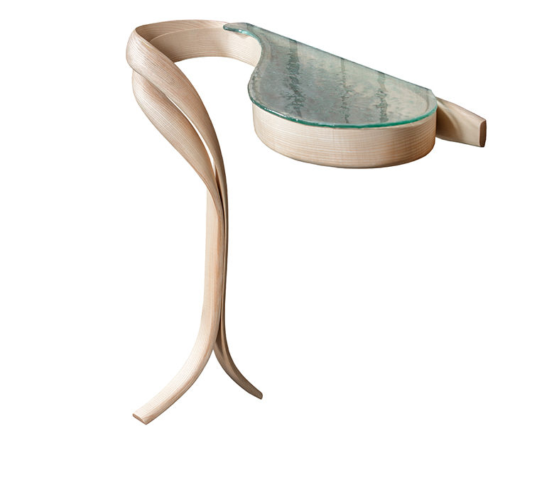 "Artistic creation - Mobilier Design - console ""Carpediem"""