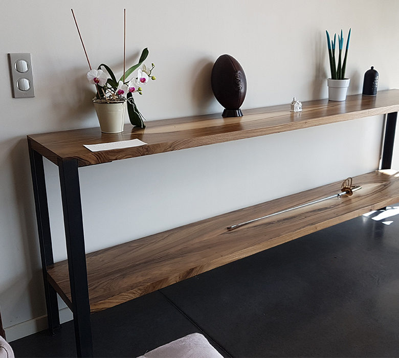 Show Bespoke design -  furniture - wooden console
