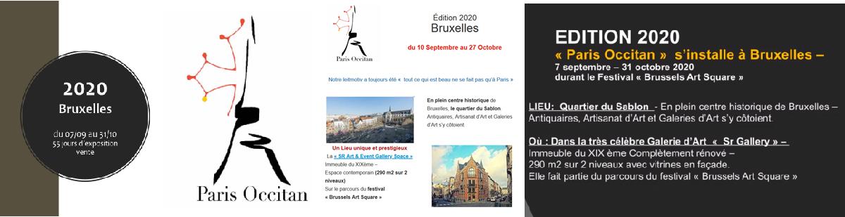 Exposition Andrew Hemus Design / Paris-Occitan à Bruxelles