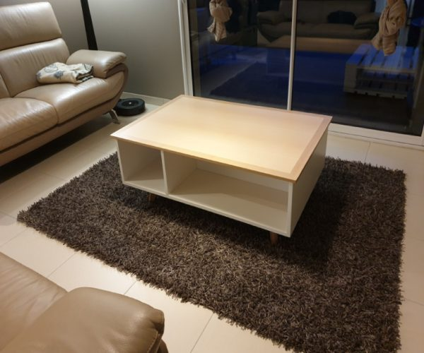 Réalisation sur-mesure - Mobilier -  Table Basse -  Lounge table