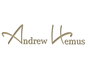 Signed Andrew Hemus, your Cabinetmaker and Designer