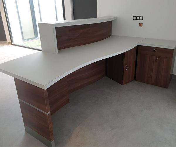 of a Reception Desk Furniture