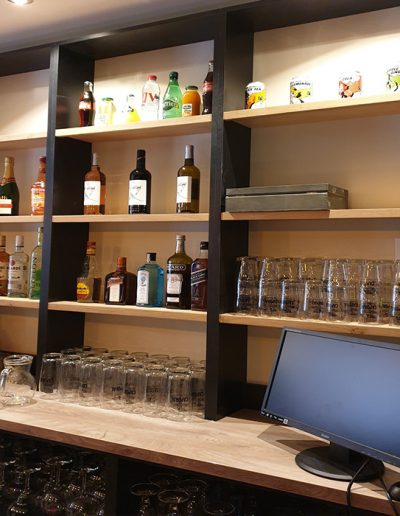 """Conception of fitting bar """"Le karioka"""" in Toulouse"""