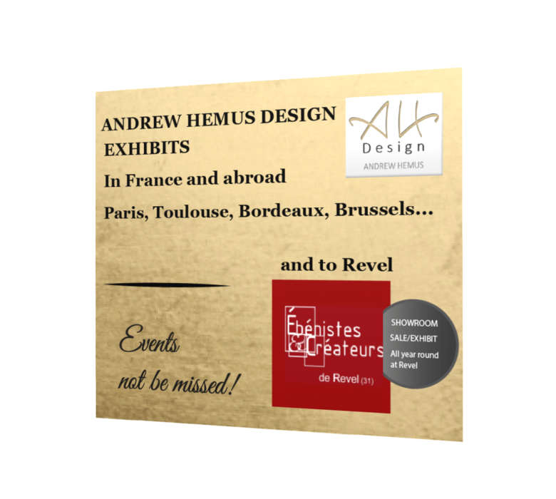 Andrew Hemus Exhibits - Events not to be missed