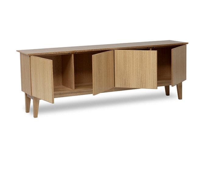 Meuble de rangement en chêne - Oak storage cabinet