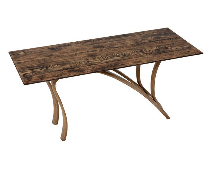 Meuble de creation artistique bureau en chene - Oak desk
