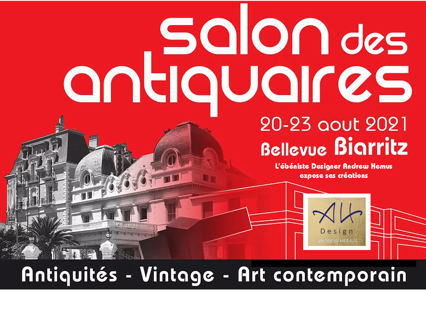 Antiques Fair in Biarritz from August 20 to 23, 2021